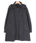 ANAYI(アナイ)の古着「ライナー付モッズコート」|ブラック