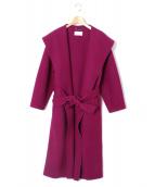 CELFORD(セルフォード)の古着「リバーコート」|ベリーピンク