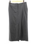 DEUXIEME CLASSE(ドゥーズィエムクラス)の古着「elegant タイトスカート」 ブラック