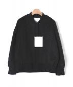 ELENDEEK(エレンディーク)の古着「シャギーボリュームブルゾン」|ブラック