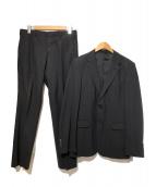 PRADA(プラダ)の古着「2Bスーツ」 ブラック
