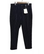 yoshio kubo(ヨシオ クボ)の古着「サイドラインコーデュロイパンツ」 ネイビー