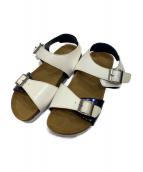 yoshio kubo(ヨシオクボ)の古着「サンダル」|ホワイト