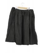 MAKIMARO(マキマロ)の古着「リネンギャザースカート」