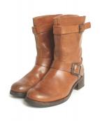 SARTORE gold(サルトル ゴールド)の古着「ブーツ」 ブラウン