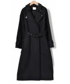 UNITED TOKYO(ユナイテッドトウキョウ)の古着「ライトデタッチャブルロングコート」|ネイビー