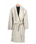 CHRISTOPHE LEMAIRE(クリストフ ルメール)の古着「ショールカラーコート」|ベージュ
