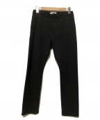 YAECA CONTEMPO(ヤエカ コンテンポ)の古着「イージーパンツ」|ブラック