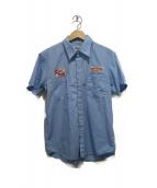 WACKO MARIA(ワコマリア)の古着「半袖ワークシャツ」