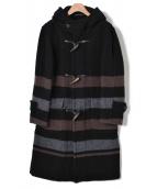 Raincheetah(レインチーター)の古着「ダッフルコート」|ブラック
