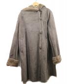 ROSSO(ロッソ)の古着「フェイクムートンコート」|グレー