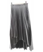 CLANE(クラネ)の古着「ラッププリーツスカート」