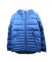 NIKE(ナイキ)の古着「ダウンジャケット」 ブルー