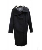 Calvin Klein(カルバンクライン)の古着「ウールカシミヤコート」|ブラック