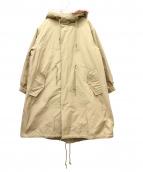 LIMITLESS LUXURY(リミットレス ラグジュアリー)の古着「ファーライナー付モッズコート」