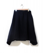 STUDIO NICHOLSON(スタジオニコルソン)の古着「ウールスカート/Walker Skirt」|ブラック