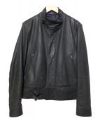 Paul Smith COLLECTION(ポールスミスコレクション)の古着「ライダースジャケット」|ブラック