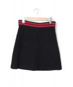 GUCCI(グッチ)の古着「ニットスカート」|ブラック
