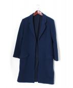 UNUSED(アンユーズド)の古着「ステンカラーコート」|ブルー