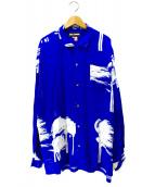 DOUBLE RAINBOUU(ダブルレインボー)の古着「ハイワアンシャツ」