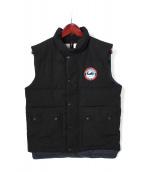 ARCTIC EXPLORER(アークティックエクスプローラー)の古着「ダウンベスト」|ブラック