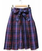 ANAYI(アナイ)の古着「チェックロングスカート」
