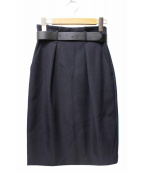 ANAYI(アナイ)の古着「ベルト付スカート」