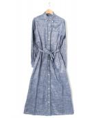 FWK Engineered Garments(エンジニアド ガーメンツ)の古着「シャツワンピース」|ネイビー