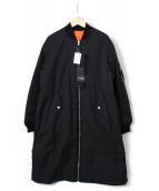 G.V.G.V(ジーヴィジーヴィ)の古着「バックレースアップMA-1コート」