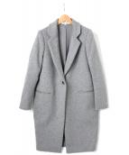 ENFOLD(エンフォルド)の古着「ウールリバーチェスターコート」|グレー