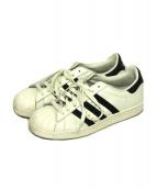 adidas(アディダス)の古着「スニーカー」|ホワイト×ブラック