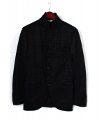 COMME des GARCONS HommePlus(コムデギャルソン)の古着「ジャケット」|ブラック