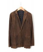 UNDERCOVERISM(アンダーカバーイズム)の古着「加工スウェードジャケット」
