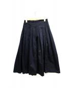 GRANDMA MAMA DAUGHTER(グランマママドーター)の古着「チノプリーツロングスカート」