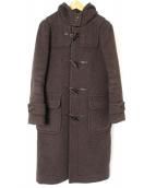 LONDON TRADITION(ロンドントラディション)の古着「ロングダッフルコート」|ブラウン