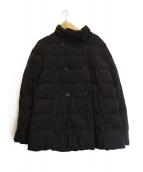 Demi-Luxe BEAMS(デミルクスビームス)の古着「ヴィクトリアンラムウールダウンコート」 グレー