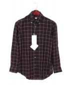 Salvatore Piccolo(サルヴァトーレピッコロ)の古着「ボタンダウンシャツ」|ブラック