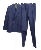 HUSBANDS(ハズバンズ)の古着「ダブルブレストセットアップスーツ」