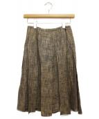CHANEL(シャネル)の古着「リネン混スカート」