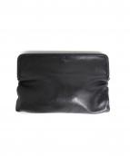 MM6(メゾン マルジェラ)の古着「クラッチバッグ」|ブラック