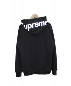 SUPREME(シュプリーム)の古着「ジップパーカー」|ブラック