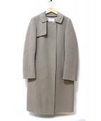 BEIGE(ベイジ)の古着「2wayカシミヤ混ウールコート」|グレー