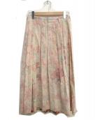COMME des GARCONS(コムデギャルソン)の古着「花柄スカート」