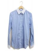 Martin Margiela4(マルタンマルジェラ4)の古着「ストライプシャツ」