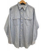 MADISON BLUE(マディソンブルー)の古着「シャンブレーシャツ」 ブルー