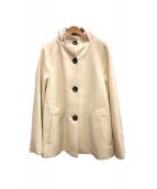 Viaggio Blu(ヴィアッジョブル)の古着「コート」|ホワイト