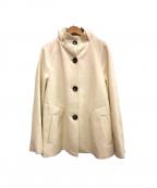 Viaggio Blu(ビアッジョブルー)の古着「コート」 ホワイト