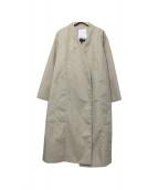 ELENDEEK(エレンディーク)の古着「テントトッパーボンディングコート」|ベージュ