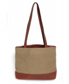 GHURKA(グルカ)の古着「トートバッグ」|ブラウン