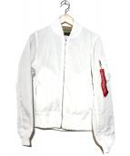 ALPHA(アルファ)の古着「リモンタナイロンMA-1ジャケット」